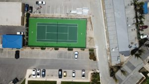 AZURE Update Tennis Court In Aruba